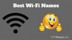 Best WiFi Names