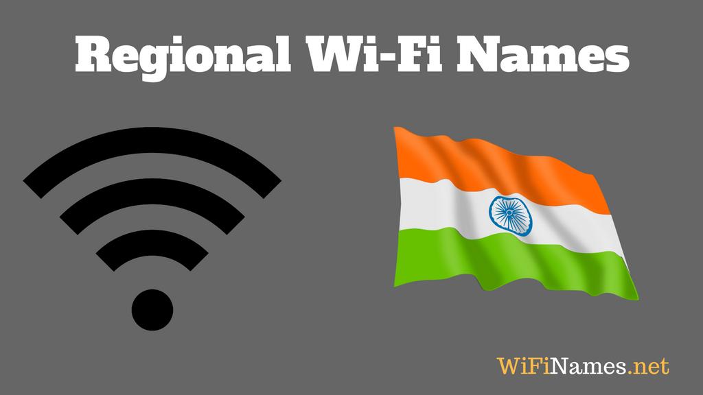 Regional WiFi Names