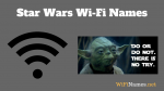 Star Wars Wifi Names