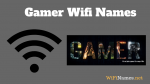 Gamer Wifi Names
