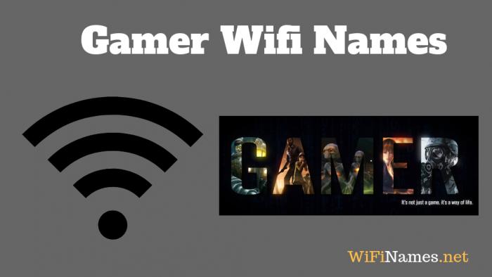Gamer Wifi Names