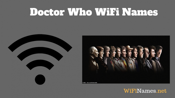 doctor who wifi names